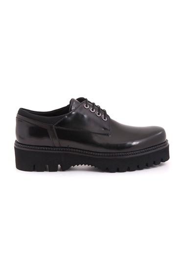%100 Deri Bağcıklı Klasik Ayakkabı-Mocassini